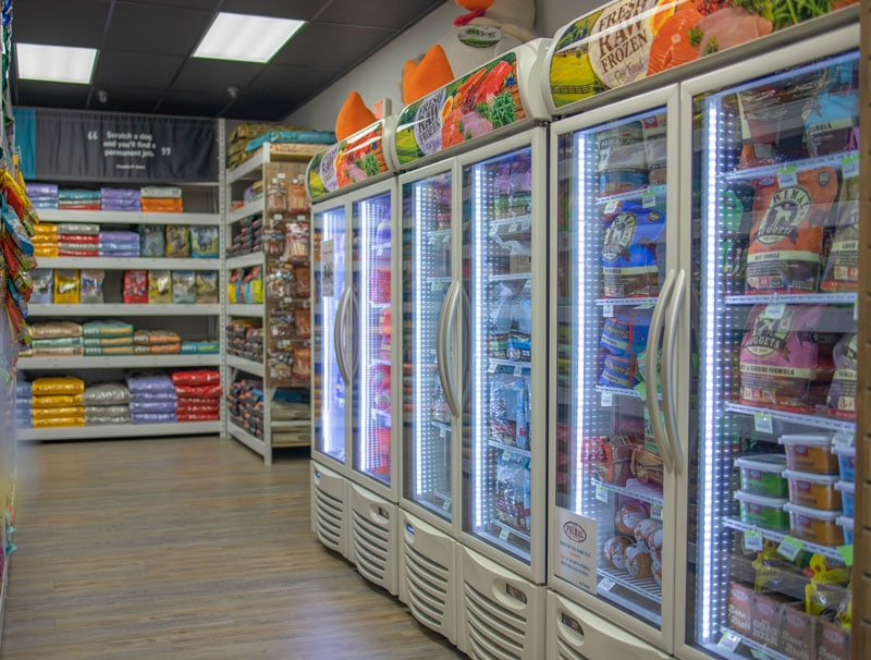 freezer food at leo and luckys